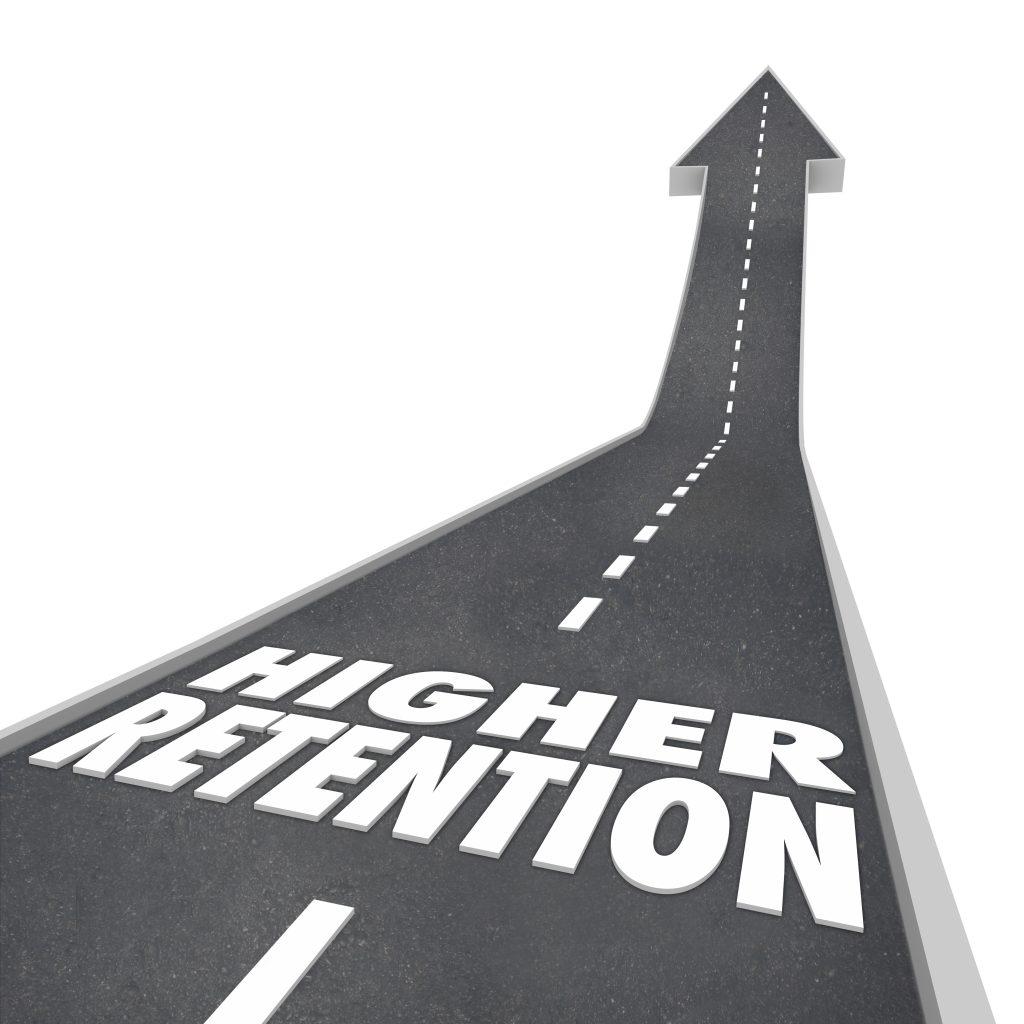 Higher Retention